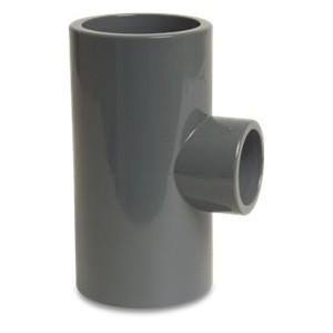 TRÓJNIK KLEJONY REDUKCYJNY PVC KW 225 X 110 X 225 90ST PN10